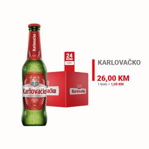 Karlovačko pivo 0,33l 1/24 010020