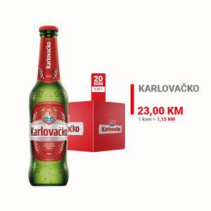 Karlovačko pivo 0,50l 1/20  010010