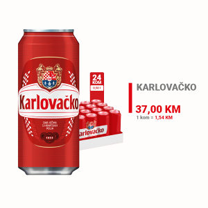 Karlovačko pivo CAN 0,50l 1/24 010070