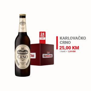 Karlovačko pivo Crno 0,50l 1/20 010205