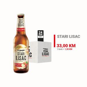 Stari Lisac cider 0,33l 1/24 010434