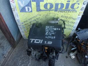 MOTOR SEAT / VW 1.9 TDI,81 KW,2001 G.P