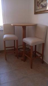 Sank sa dvije stolice - Barski sto - stol sa stolicama