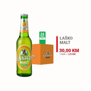 Laško Malt Ananas 0,0% alc.0,33l 1/24 400031