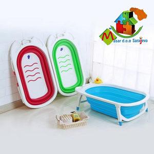Banjica za bebe (silikon i plastika)
