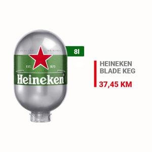 Heineken Blade pivo KEG 8l 020154