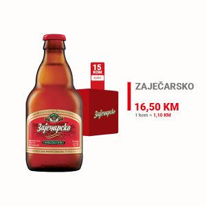 Zaječarsko pivo 0,33l 1/15 100156