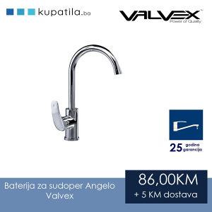 Baterija za sudoper Angelo Valvex