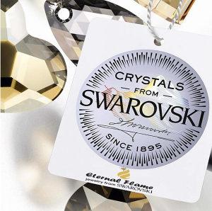 SWAROVSKI - Ženski nakit od punog s925 srebra