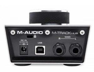 M-Audio m-track HUB monitoring interface