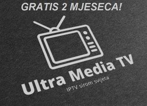 IPTV Ultra HD kanali TEST 48h AKCIJA GRATIS 2 MJESECA