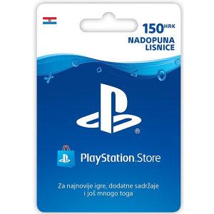 PSN PlayStation kartica 150 KUNA 150kn HRK Gift Card