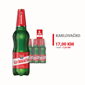 Karlovačko pivo 2l 1/6 010445