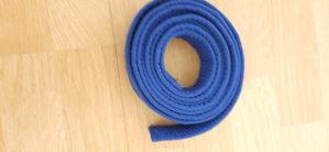 Pojas karate plavi