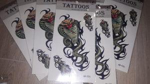 Tetovaza privremena tattoo privremene tetovaze zmija na