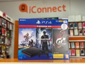 Sony PlayStation 4 1TB + 3 igre (PS4) GT Sport