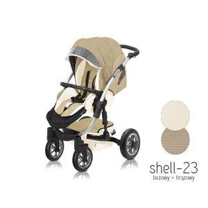 Kolica za bebe Shell babyactive 3u1