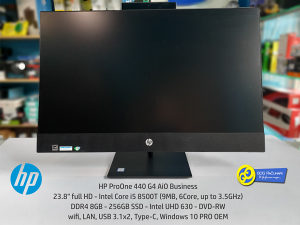 "AiO HP ProOne 440 G4, 23.8"", i5 8500T, 8GB, Win10"