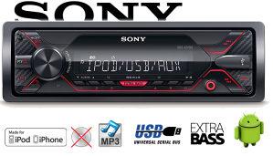 SONY Auto radio USB AUX DSX-A210UI i DSX-A212UI 4x55W
