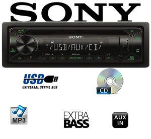 Sony Auto CD/MP3 USB CDX-G1300U i CDX-G1302U