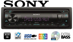 Sony Auto CD/MP3 USB CDX-G3300UV 4x55W