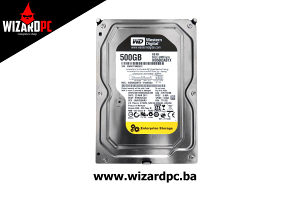 """HDD Interni WESTERN DIGITAL 500GB  3.5""""  64MB (9954)"""