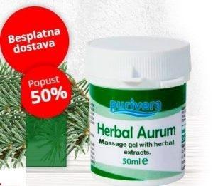 Herbal Aurum Gel Bolovi Kostiju Reuma