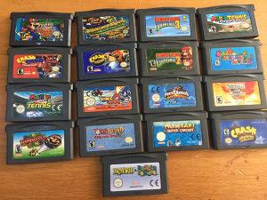 Nintendo game boy advance igre