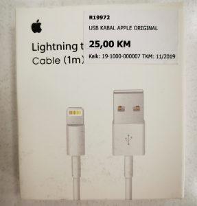 Apple iphone usb kabal