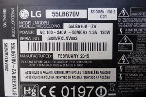 LG 55LB670V