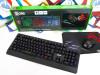 Gaming tipkovnica, miš i podloga Borg Warrior KM-9025