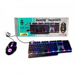 Tastatura Mis Gejmerski sa Led svjetlom**35KM**