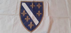 Orginal zastava Ljiljani iz devedesetih