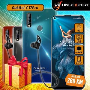 Oukitel Smartphone C17 Pro Black/ Blue / Orange