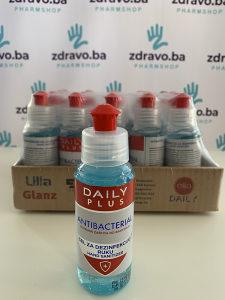 Gel za dezinfekciju ruku, Antibacterial