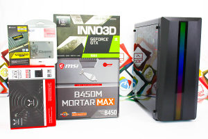 Gaming PC CR100; R7 2700; GTX 1660; 240GB SSD; 1TB HDD