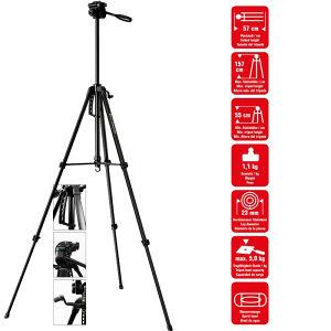 TRIPOD STALAK STATIV ZA KAMERU FOTOAPARAT 157cm (26891)
