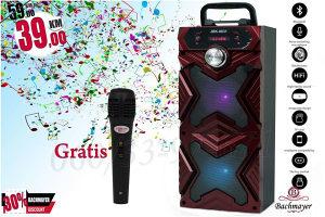 Karaoke bluetooth zvučnik sa GRATIS mikrofonom
