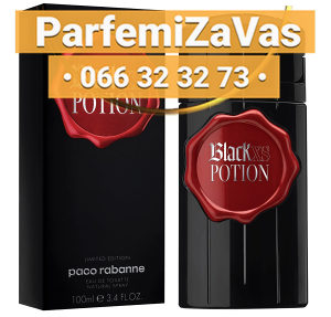 Paco Rabanne Black XS Potion For Him 100ml Tester Lim E M 100 ml