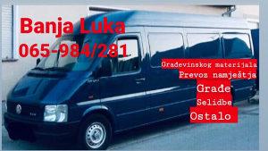 Kombi prevoz stvari, selidbe Banja Luka, radna snaga