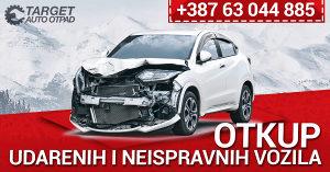 OTKUP UDARENIH HAVARISANIH VOZILA AUTA AUTO TARGET