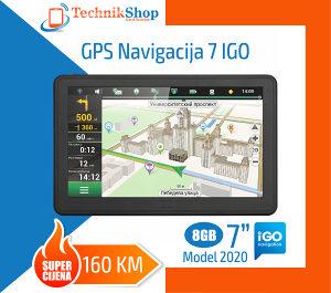 GPS navigacije 7 IGO, Model 2020, mape 2020