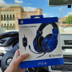 BIGBEN Gaming Stereo Headset PS4 PC NOVO GARANCIJA
