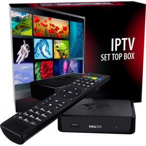 MAG 322 IPTV BOX 140KM + IPTV kanali 80 KM 12mj.