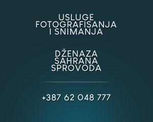 Fotografisanje / slikanje i snimanje dzenaza / dzenaze