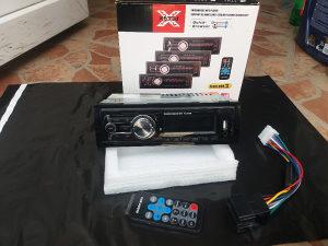 AUTO RADIO USB SD AUX 12v i 24v KASTOFON KAMION BUS