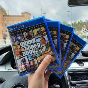 GTA V PREMIUM EDITION PS4 Playstation 4