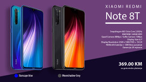 Mobitel XIAOMI Redmi Note 8T 4GB / 64GB