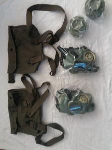 3 maske MC1 JNA sa dodatna 3 filtera rezerve sve za45KM
