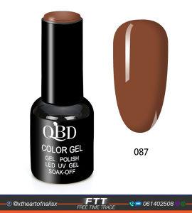 QBD UV gel, trajni lak za nokte 10ml br87